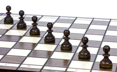 strangers: pawns on a chessboard