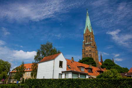 places of interest: Dom of Schleswig in Schleswig-Holstein, Germany