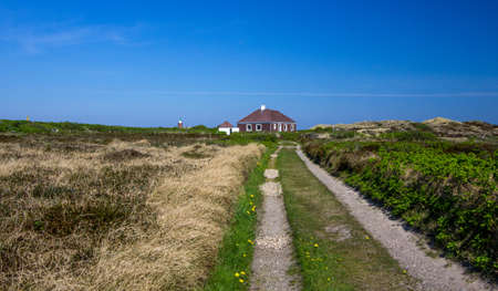 bikeway: the island of Sylt. Germany