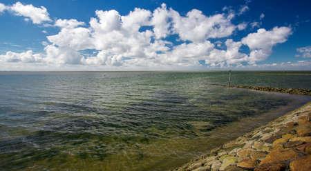 westerhever: North Sea, Schleswig-Holstein. Germany Stock Photo