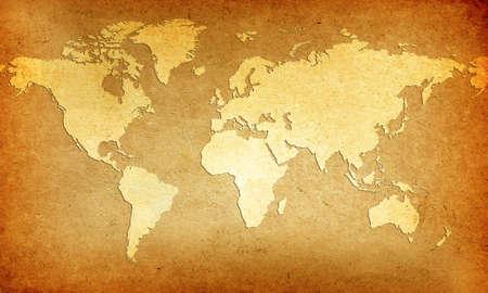 the borderline: Old World Map