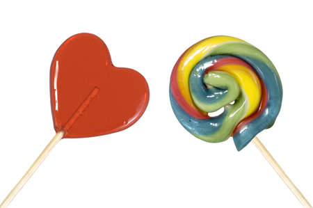 ecard: Two Delicious Candies Stock Photo