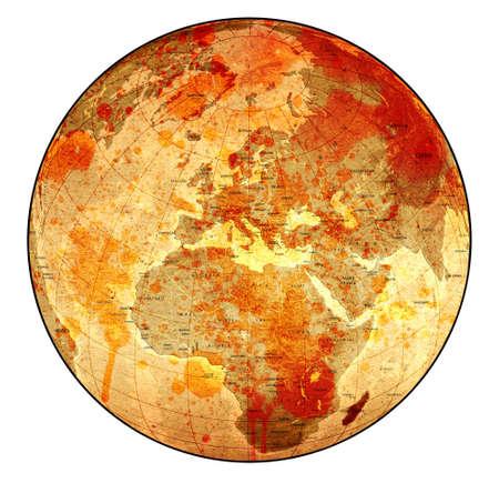 the borderline: Bloody Old Globe