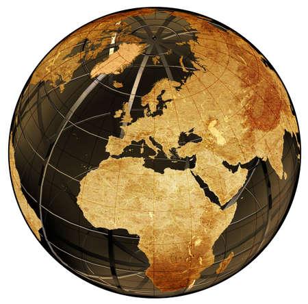weltkugel asien: Globus