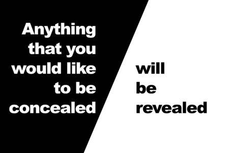 흑백 인용문 : 당신이 감추고 자하는 어떤 것이라도 안심할 수 있습니다.