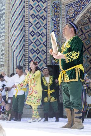 BUKHARA, UZBEKISTAN - MAY 26, 2018: Silk and Spices Festival 2018. Silk road spices bukhara Editorial