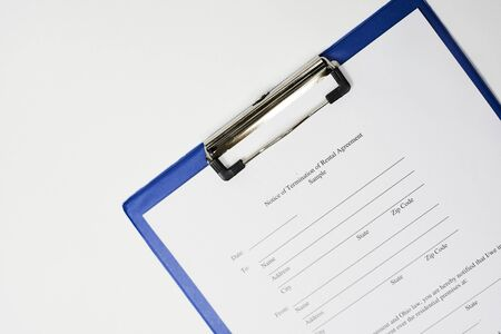 Filling and Signing Notice of Termination of Rental Agreement Sample