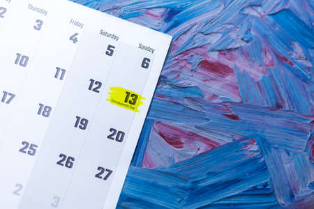 Grandparents day 2021. September 2021 calendar. September monthly calendar on blue background Stock fotó