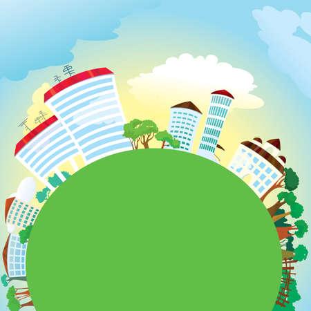 illustration of planet. Stock Vector - 7255292