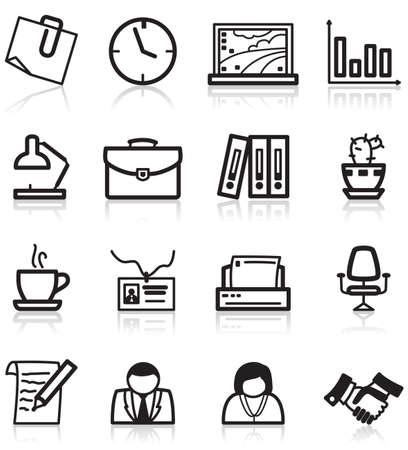 userpic: Minimalistic offise icons set Illustration