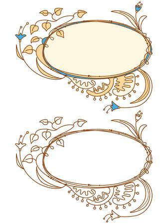 Doodle frames Stock Vector - 7269447