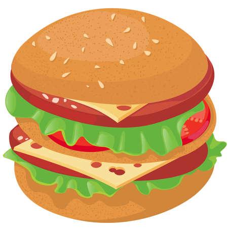 cheeseburger Vector