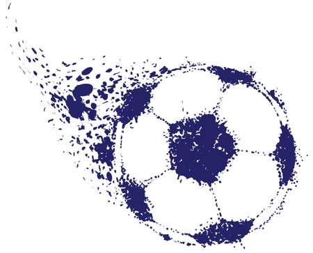 pelota caricatura: Ball de f�tbol