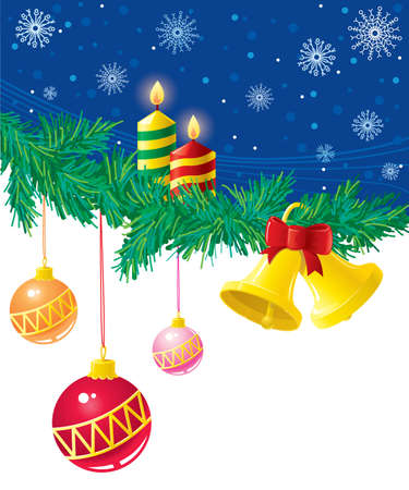 Christmas background Stock Vector - 7358943