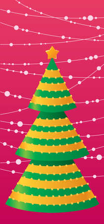 Christmas card Stock Vector - 7358840