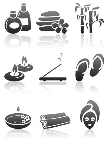 Minimalistic SPA icons set
