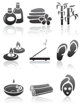 Set di icone minimalista SPA