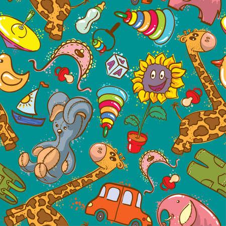 jumpsuit: Toys seamless
