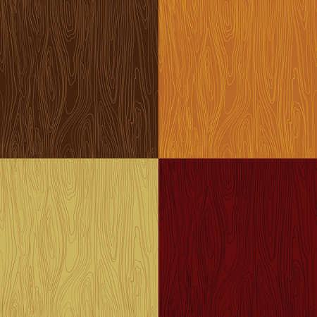 Wood seamless pattern vector texture Ilustração