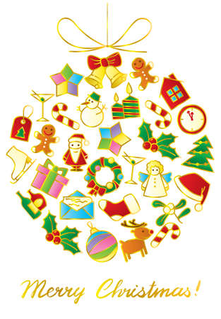 Christmas background Stock Vector - 16603810