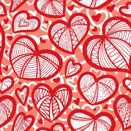 rosas negras: Patrón transparente lindo de San Valentín con el corazón