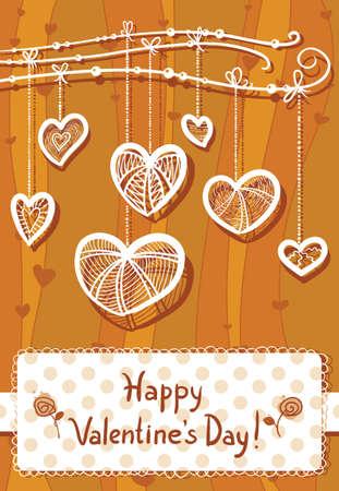 Valentine's Day background Stock Vector - 17247876