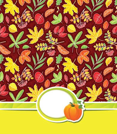 Thanksgiving day card design Stock Vector - 22175615