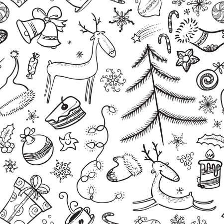 arboles blanco y negro: Navidad en blanco y negro de fondo transparente