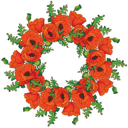 Poppy Wreath Images & Stock Pictures. Royalty Free Poppy Wreath ...