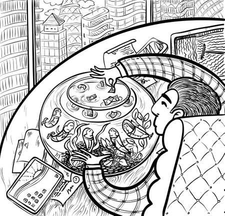 director de escuela: Jefe de los salarios que se pagan los trabajadores de oficina, doodle versi�n