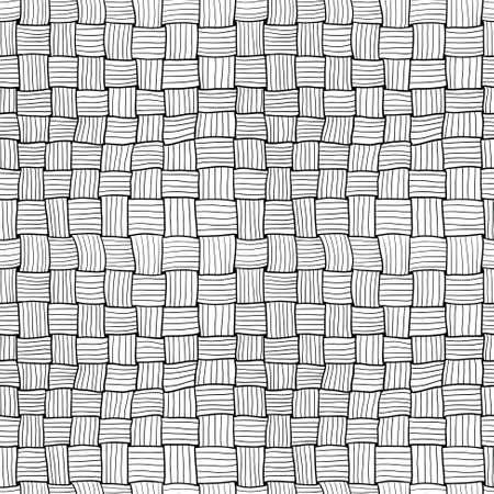 matting: Garabato dibujado a mano tejer patr�n abstracto sin fisuras