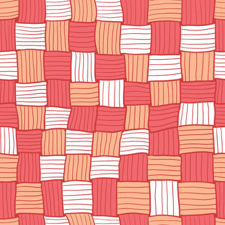 netting: Doodle abstract netting seamless background