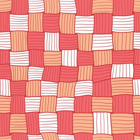 matting: Red abstracto del Doodle de fondo sin fisuras