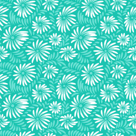 seamless floral: Abstract floral seamless pattern Illustration