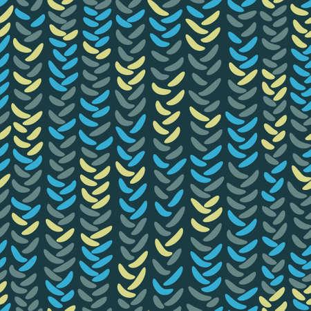 knitting: Abstract knitting seamless pattern