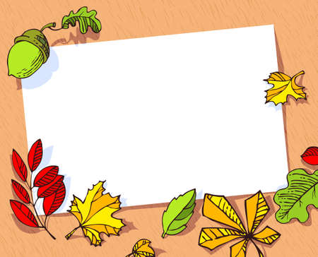 Fall season banner.
