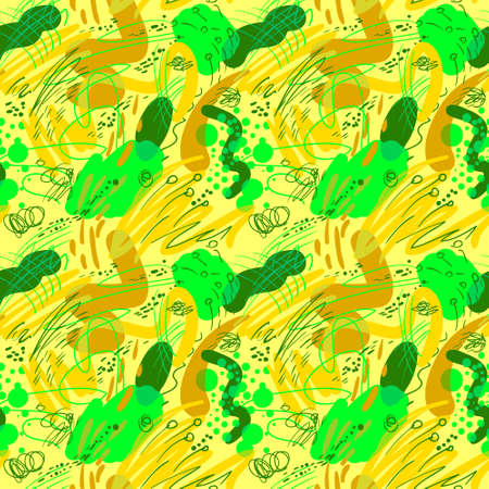 Doodle sketchy abstract pattern.