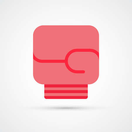 Boxing glove color icon. Vector eps 10 向量圖像