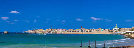 Acre panorama (Israel) Stock Photo