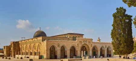 Mosque of Al Aqsa Jerusalem Editorial