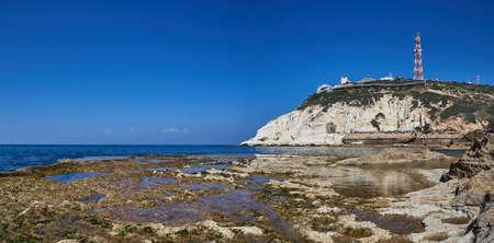 View of Rosh Hanikra Фото со стока