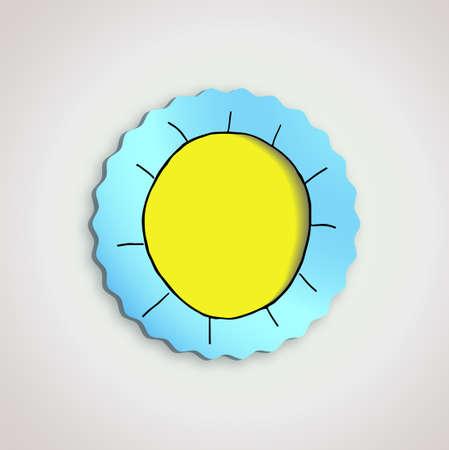 sketch sun