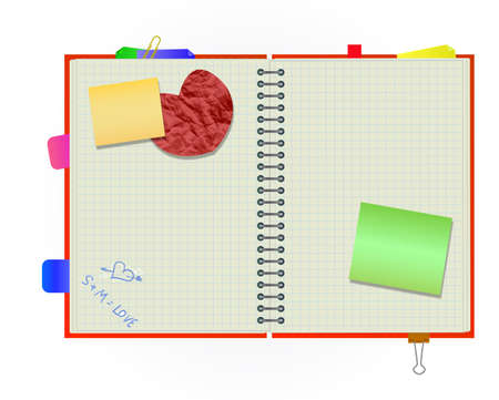 scrapbook Illustration