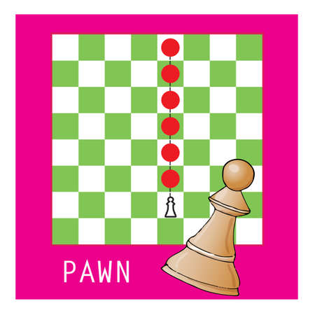 pawn in chess Illustration