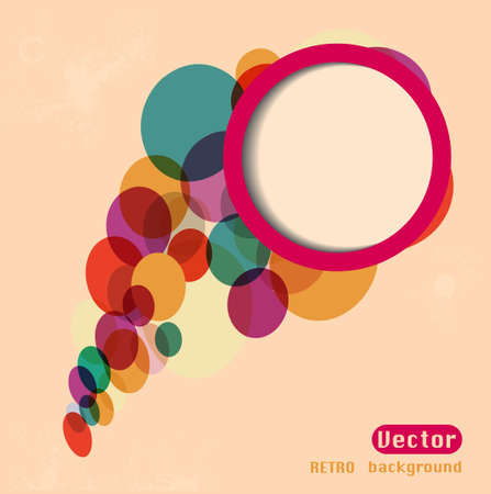 websit: Abstract web design bubble, vector