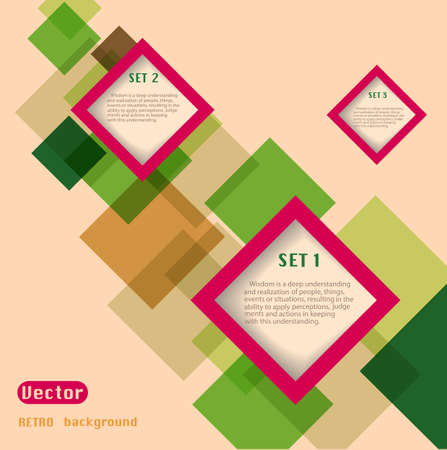 Abstract web design vector Illustration