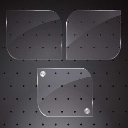 gloss: Tree Gloss Buttons Illustration