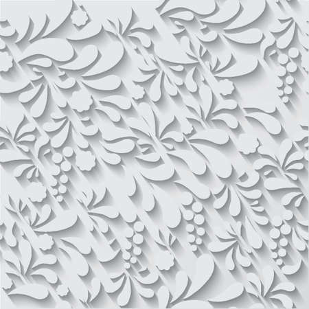 Floral ornament vector background pattern. Can use for xmas card, wedding invitations etc