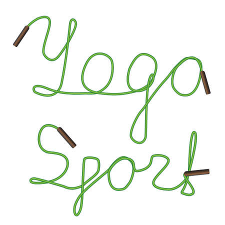 yoga sport Illustration