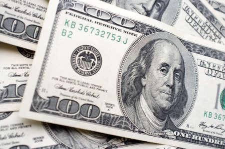 benjamin: It is a lot of 100 dollar bills with Benjamin Franklins face